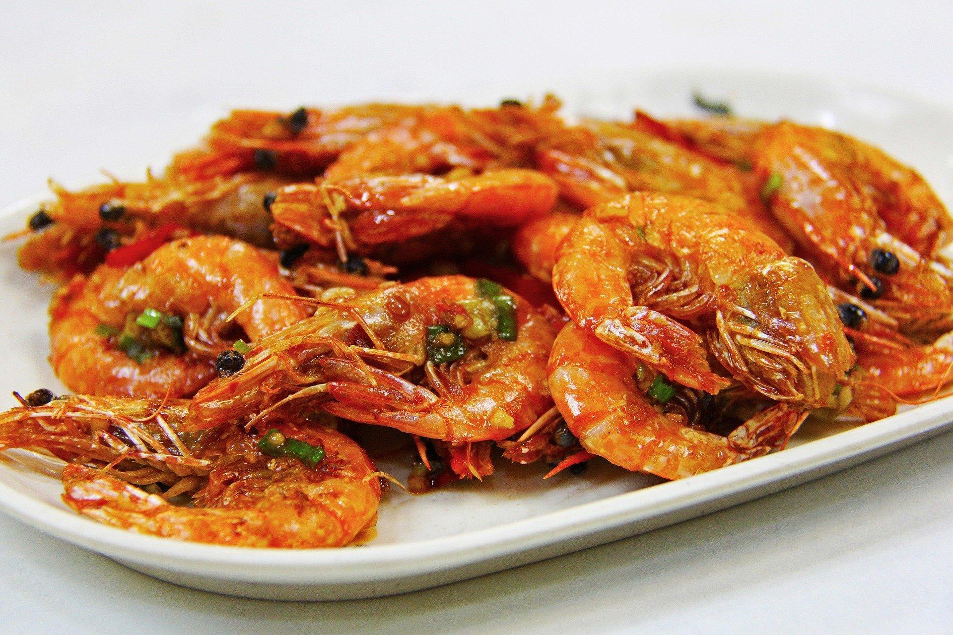 Easy Airfryer recipes for Spicy Garlic Prawns