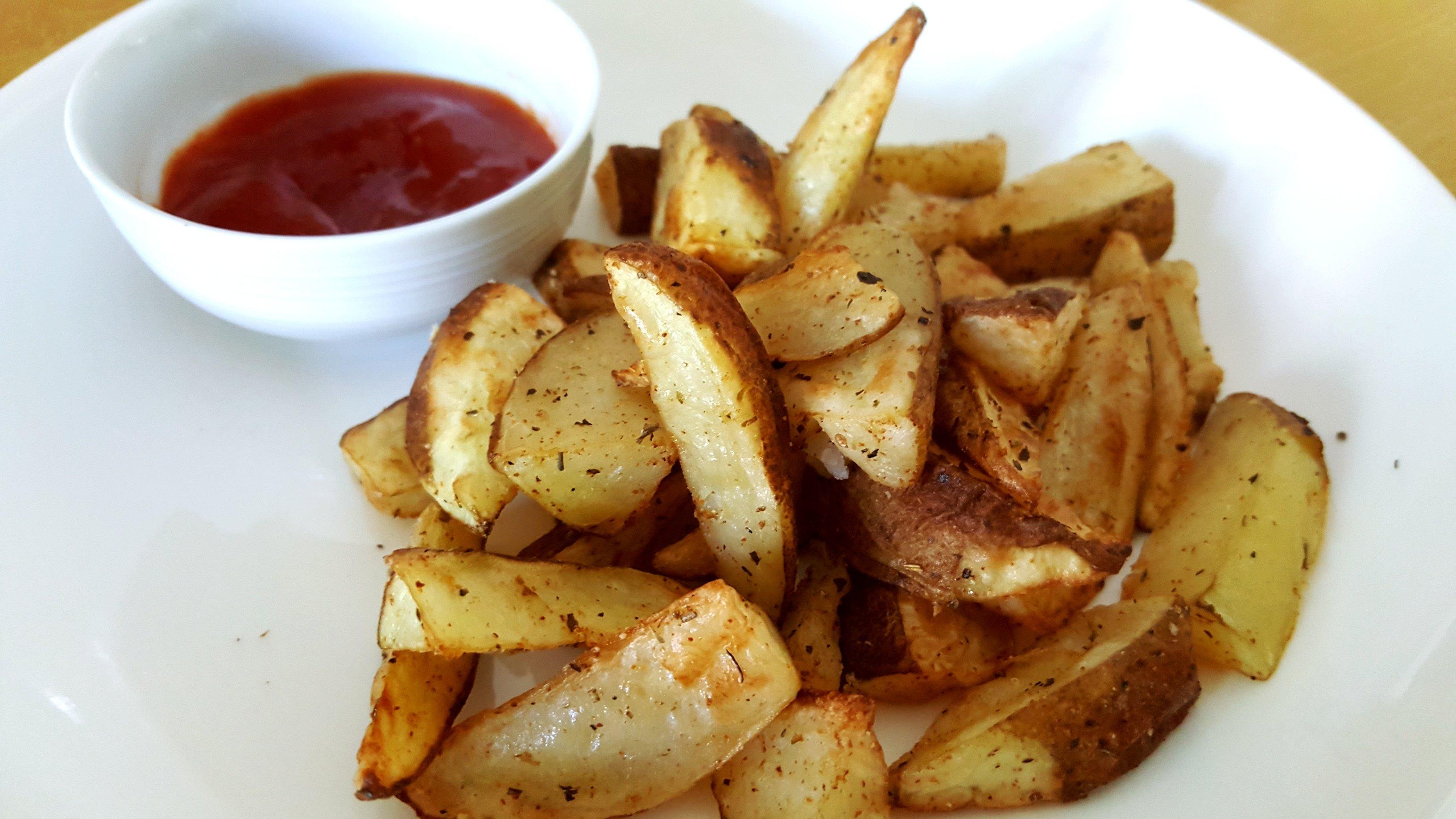 Air Fry Potato Wedges