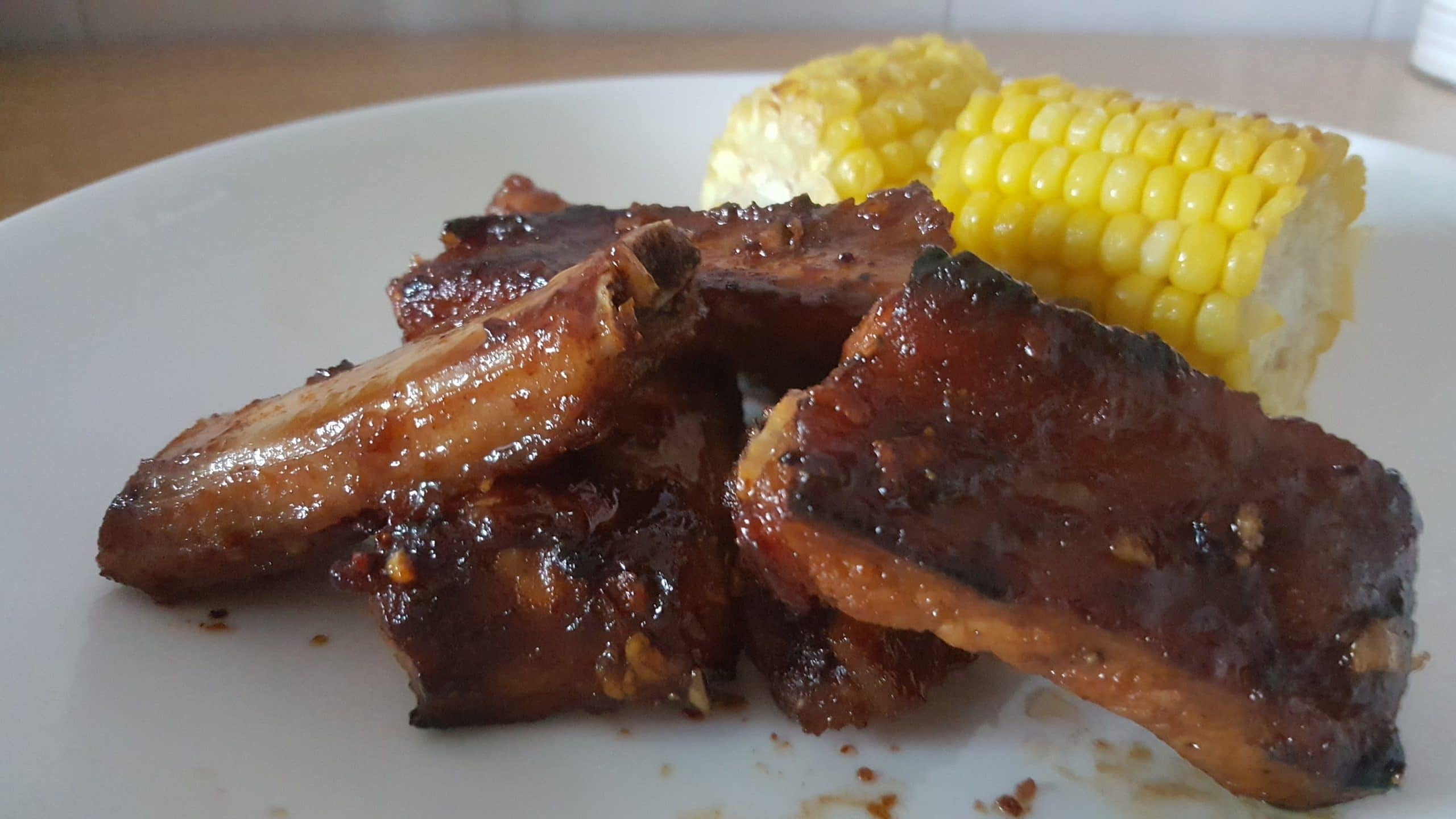 AIRFRYER BBQ PORK RIBS