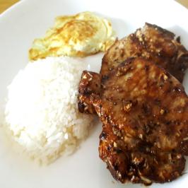Airfryer Fried Vietnamese Pork Chop