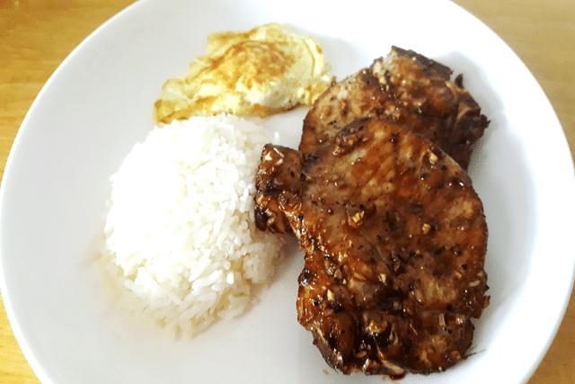 Airfryer Recipe fopr Vietnamese Pork Chops